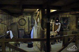 Wnętrze Arki.