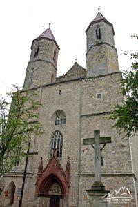 Kościół w Lubomierzu.