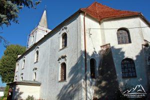 Kościół w Ścinawie.