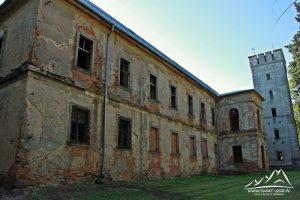 Pałac w Przydrożu Małym.