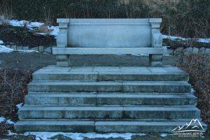 Ławka kamienna na której przesiadywał Joseph von Eichendorff