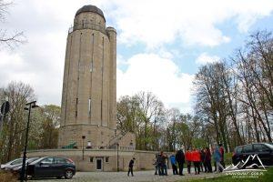 Wieża ciśnień przy Forcie Prusy.