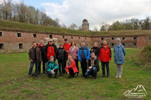 Uczestnicy na Forcie Prusy.
