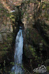 Wodospad Wilczki.