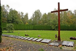 Cmentarz ofiar obozu pracy.