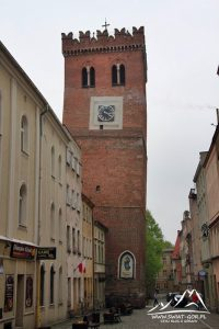 Najważniejsza atrakcja Ząbkowic - Krzywa Wieża.