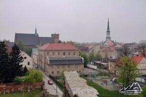 Panorama Ząbkowic.