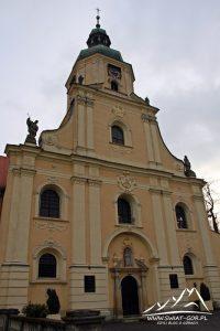 Kościół w Rudach.