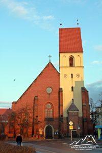 Kościół św. Zygmunta i św. Jadwigi Śląskiej.