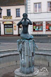 Fontanna w Koźlu.