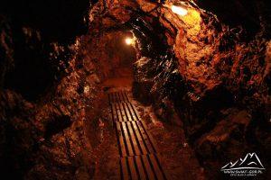 Wnętrze kopalni.