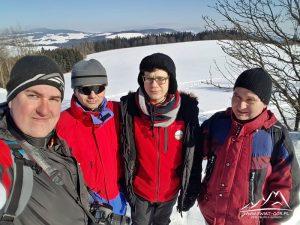 Ja, Tomek, Jarek i Marek.