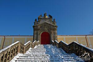 Wejście do klasztoru.