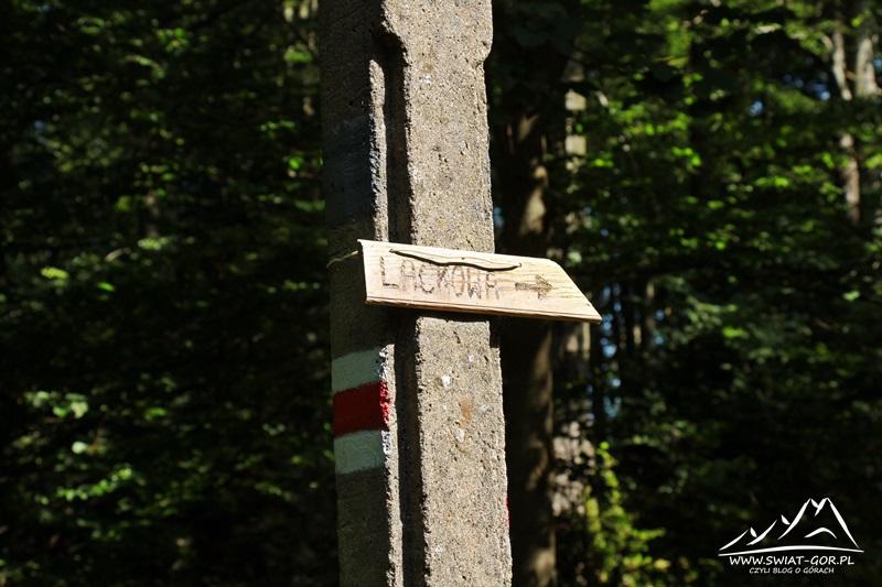 Ścieżka na Lackową.