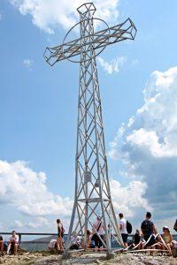 Krzyż na Tarnicy.