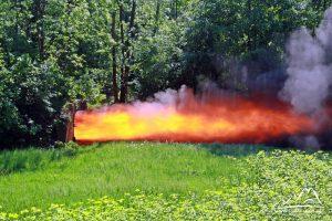 Wybuch pyłu węglowego.