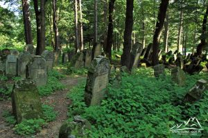 Cmentarz żydowski.