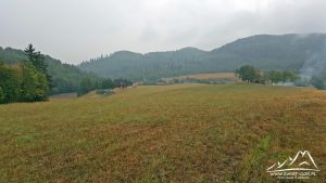 Panorama okolic Żdanowa.