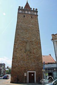 Wieża Bramy Górnej.