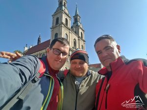 Andrzej, Łukasz i Adrian.