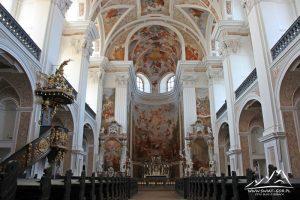 Wnętrze kościoła św. Józefa Robotnika