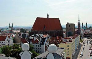 Nysa z Wieży Wrocławskiej