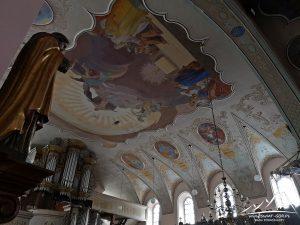 Kościół Bożego Ciała - wnętrze.