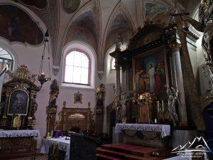Kościół Bożego Ciała - ołtarz.