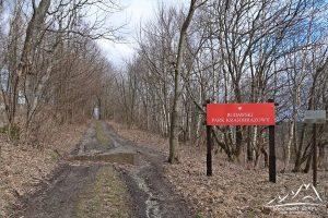 Wchodzimy na teren Rudawskiego Parku Krajobrazowego.