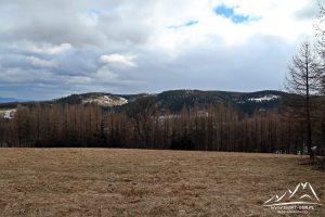 Widok na Wzgórza Bramy Lubawskiej.